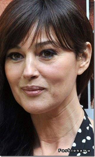 Monica Bellucci about beauty