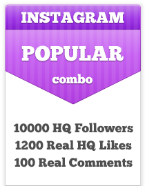 best place to buy Instagram followers, human response and real active likes